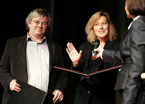 Auf dem Foto: Michaela Böhm und Stephan Morgenstern. Foto: Joachim Storch.